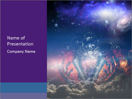 Cosmic Space PowerPoint Template