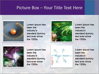 Cosmic Space PowerPoint Template - Slide 14