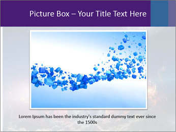 Cosmic Space PowerPoint Template - Slide 15