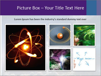 Cosmic Space PowerPoint Template - Slide 19