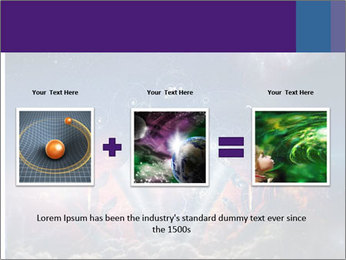 Cosmic Space PowerPoint Template - Slide 22