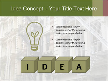 Grey Building Facade PowerPoint Template - Slide 80