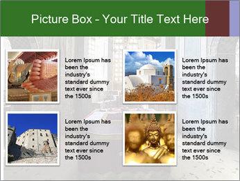 Monastery Room PowerPoint Templates - Slide 14