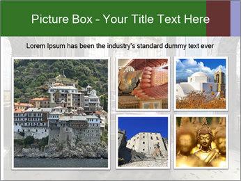 Monastery Room PowerPoint Templates - Slide 19