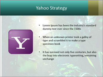 Green Jungle PowerPoint Template - Slide 11