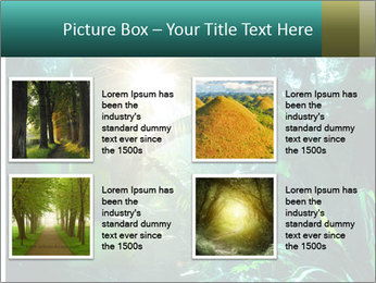 Green Jungle PowerPoint Template - Slide 14