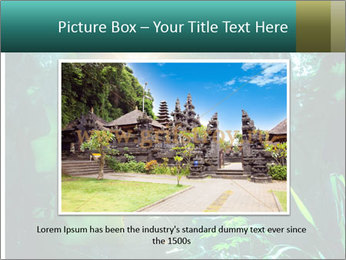 Green Jungle PowerPoint Template - Slide 16