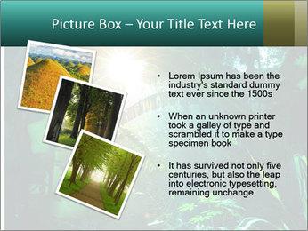 Green Jungle PowerPoint Templates - Slide 17