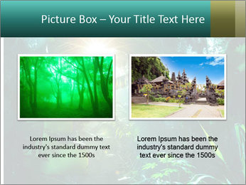 Green Jungle PowerPoint Template - Slide 18