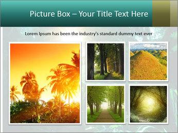 Green Jungle PowerPoint Templates - Slide 19