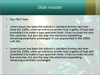 Green Jungle PowerPoint Template - Slide 2