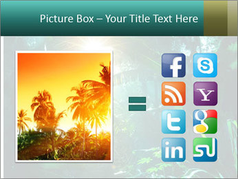 Green Jungle PowerPoint Template - Slide 21
