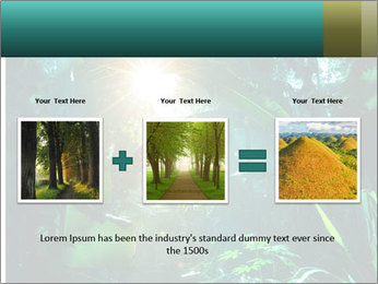 Green Jungle PowerPoint Template - Slide 22