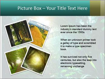 Green Jungle PowerPoint Template - Slide 23
