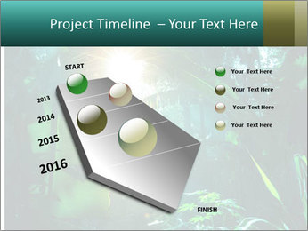 Green Jungle PowerPoint Template - Slide 26
