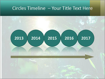 Green Jungle PowerPoint Template - Slide 29