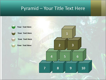 Green Jungle PowerPoint Template - Slide 31
