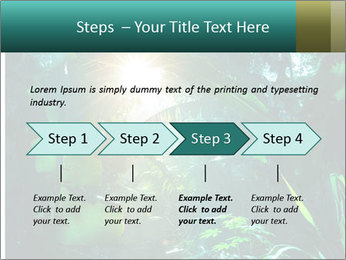 Green Jungle PowerPoint Template - Slide 4