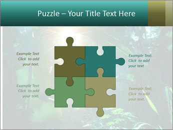 Green Jungle PowerPoint Template - Slide 43