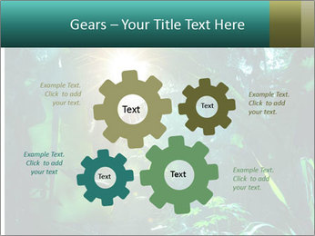 Green Jungle PowerPoint Template - Slide 47