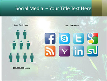 Green Jungle PowerPoint Template - Slide 5