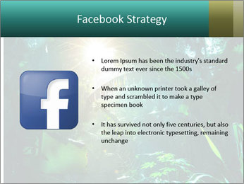 Green Jungle PowerPoint Template - Slide 6