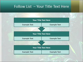 Green Jungle PowerPoint Template - Slide 60