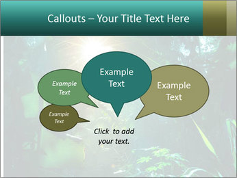 Green Jungle PowerPoint Template - Slide 73