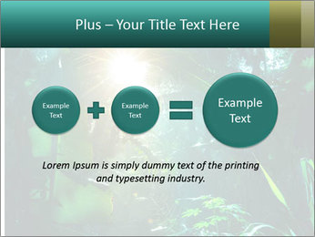 Green Jungle PowerPoint Template - Slide 75