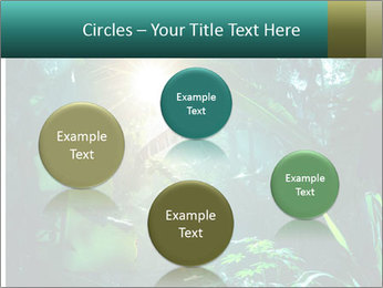 Green Jungle PowerPoint Template - Slide 77