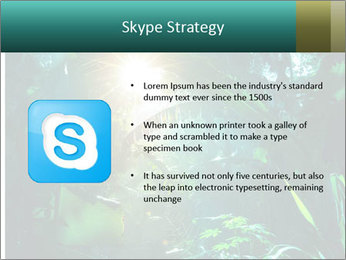 Green Jungle PowerPoint Templates - Slide 8