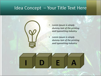 Green Jungle PowerPoint Template - Slide 80