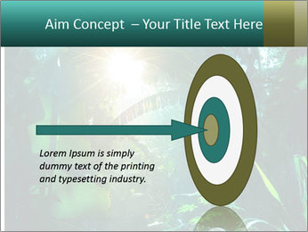 Green Jungle PowerPoint Template - Slide 83