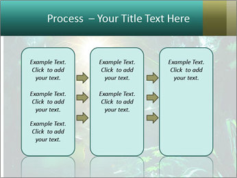 Green Jungle PowerPoint Template - Slide 86