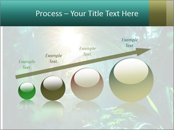 Green Jungle PowerPoint Template - Slide 87