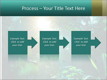 Green Jungle PowerPoint Template - Slide 88