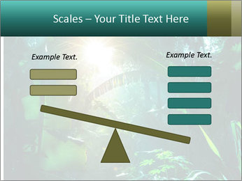 Green Jungle PowerPoint Template - Slide 89