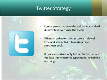 Green Jungle PowerPoint Template - Slide 9