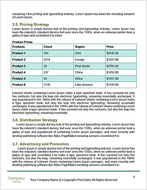 0000088888 Word Template - Page 9