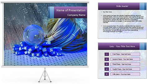 Engineering Objects PowerPoint Template