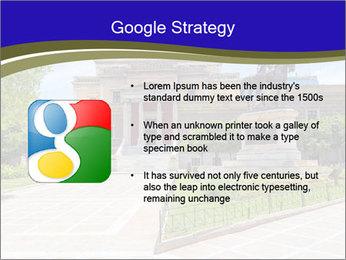 Greek administrative building PowerPoint Template - Slide 10