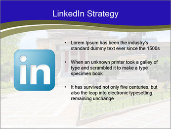 Greek administrative building PowerPoint Template - Slide 12