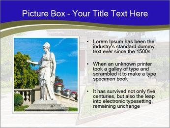 Greek administrative building PowerPoint Template - Slide 13
