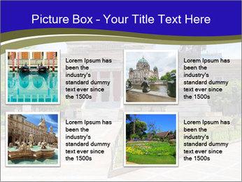 Greek administrative building PowerPoint Template - Slide 14