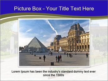Greek administrative building PowerPoint Template - Slide 16