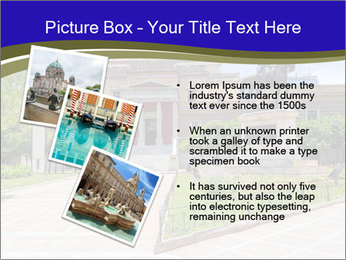 Greek administrative building PowerPoint Template - Slide 17