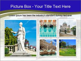 Greek administrative building PowerPoint Template - Slide 19