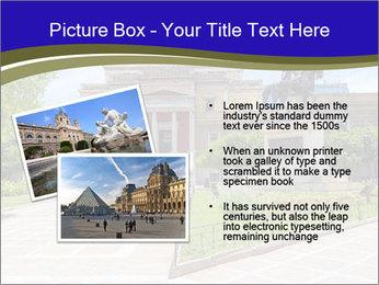 Greek administrative building PowerPoint Template - Slide 20
