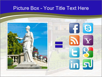 Greek administrative building PowerPoint Template - Slide 21
