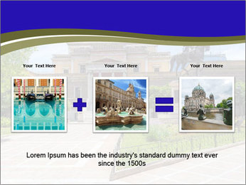 Greek administrative building PowerPoint Template - Slide 22